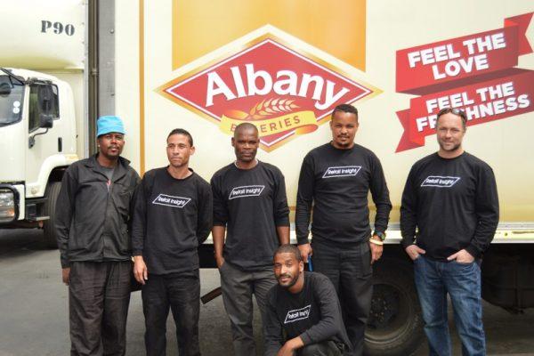 Albany Truck Rebrand 2017