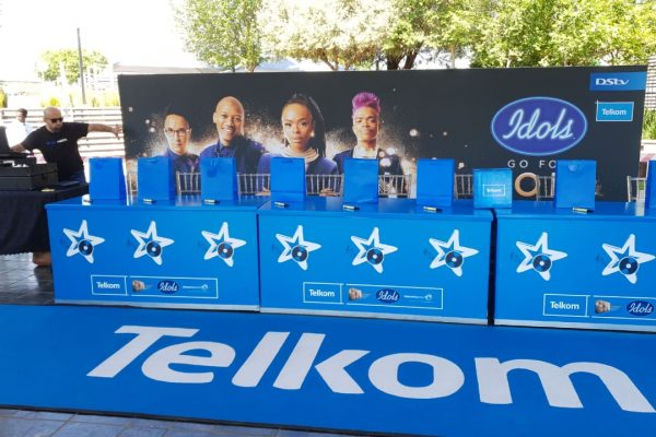 Telkom Internal Park Idols Activation